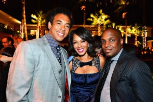 Sparkle LA Premiere Afterparty - Harvey Mason Jr, Debra Martin Chase, Damon Thomas