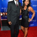 Sparkle LA Premiere - Bobbi Kristina Brown and Nick Gordon 2