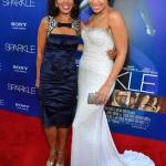 Sparkle LA Premiere - Debra Martin Chase, Jordin Sparks