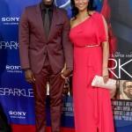 Sparkle LA Premiere - Derek Luke, Sophia Luke
