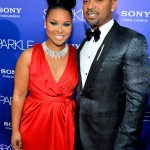 Sparkle LA Premiere - Mike Epps and Michelle Epps