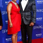 Sparkle LA Premiere - Mike Epps and Michelle Epps 2