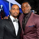 Sparkle LA Premiere - Omari Hardwick and Derek Luke.jpeg