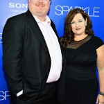 Sparkle LA Premiere - Producer Curtis Wallace and guest