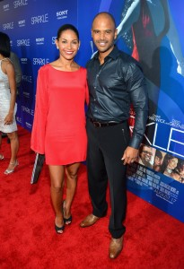 Sparkle LA Premiere - Salli Richardson-Whitfield, Dondre Whitfield