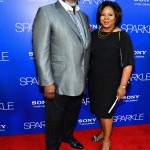 Sparkle LA Premiere - T.D. Jakes and guest