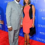 Sparkle LA Premiere - Tasha Smith and husband Keith Douglas