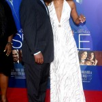 Sparkle LA Premiere - Wendy Raquel Robinson and guest