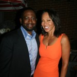 Sparkle NY afterparty - Blackfilm Editor Wilson Morales and Debra Martin Chase
