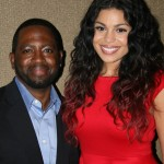 Sparkle NY afterparty - Blackfilm Editor Wilson Morales and Jordin Sparks