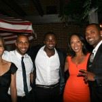 Sparkle NY afterparty - Carmen Ejogo, Omari Hardwick, Derek Luke, Debra Martin Chase, Mike Epps