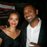 Sparkle NY afterparty - Carmen Ejogo and Mike Epps