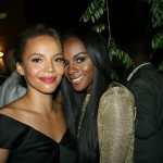 Sparkle NY afterparty - Carmen Ejogo and Tika Sumpter