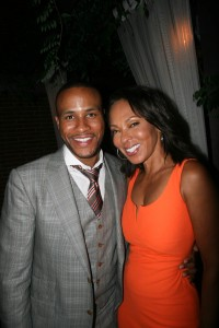 Sparkle NY afterparty - DeVon Franklin and Debra Martin Chase