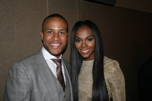 Sparkle NY afterparty - DeVon Franklin and Tika Sumpter