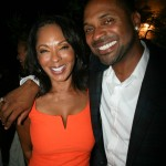 Sparkle NY afterparty - Debra Martin Chase and Mike Epps