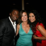 Sparkle NY afterparty - Derek Luke, Jodi Wiedemann, Jordin Sparks