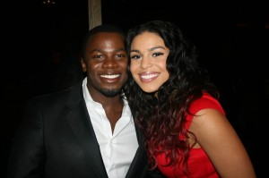 Sparkle NY afterparty - Derek Luke and Jordin Sparks