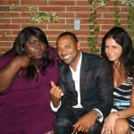Sparkle NY afterparty - Gabourey Sidibe, Mike Epps