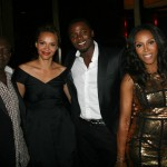 Sparkle NY afterparty - Hilton Battle, Carmen Ejogo, Derek Luke, June Ambrose, Omari Hardwick