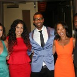 Sparkle NY afterparty - Jodi Wiedemann, Jordin Sparks, Cullen Jones, Debra Martin Chase, AJ Calloway
