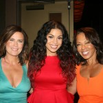 Sparkle NY afterparty - Jodi Wiedemann, Jordin Sparks, Debra Martin Chase