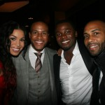 Sparkle NY afterparty - Jordin Sparks, DeVon Franklin, Derek Luke, Omari Hardwick