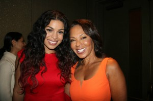 Sparkle NY afterparty - Jordin Sparks and Debra Martin Chase