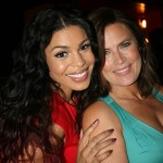 Sparkle NY afterparty - Jordin Sparks and her mom Jodi Wiedemann