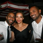 Sparkle NY afterparty - Omari Hardwick, Carmen Ejogo, Mike Epps
