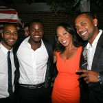 Sparkle NY afterparty - Omari Hardwick, Derek Luke, Debra Martin Chase, Mike Epps