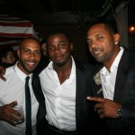 Sparkle NY afterparty - Omari Hardwick, Derek Luke, Mike Epps