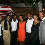 Sparkle NY afterparty -Omari Hardwick, Tika Sumpter, Derek Luke, Debra Martin Chase, Mike Epps, Carmen Ejogo, DeVon Franklin