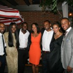 Sparkle NY afterparty -Omari Hardwick, Tika Sumpter, Derek Luke, Debra Martin Chase, Mike Epps, Carmen Ejogo, DeVon Franklin 2