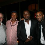 Sparkle NY afterparty - Salman Rushdie, Russell Simmons, Derek Luke, Omari Hardwick