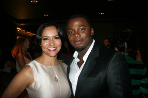 Sparkle NY afterparty - Sophia Luke, Derek Luke