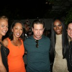 Sparkle NY afterparty - Tonya Lewis Lee, Debra Martin Chase, Stephen Baldwin, Tika Sumpter, Nikki Silver