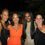 Sparkle NY afterparty - Tonya Lewis Lee, Debra Martin Chase, Tika Sumpter, Nikki Silver