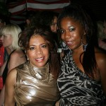 Sparkle NY afterparty - Valerie Simpson and friend