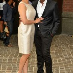 Sparkle screening - Derek Luke and wife Sophia Luke