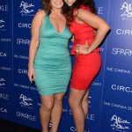 Sparkle screening - Jordin Sparks and her mom Jodi Wiedeman