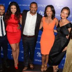 Sparkle screening - Omari Hardwick, Jordin Sparks, Mike Epps, Debra Martin Chase, Carmen Ejogo, Tika Sumpter