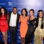 Sparkle screening - Omari Hardwick, Jordin Sparks, Mike Epps, Debra Martin Chase, Carmen Ejogo, Tika Sumpter and Derek Luke