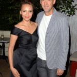 Sparkle screening afterparty - Carmen Ejogo and Anthony Edwards
