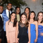 Sparkle screening afterparty -  Derek Luke, Olympic swimmer Cullen Jones, Tika Sumpter, producer Debra Martin Chase, The Olympic Gymnastics team Aly Raisman, McKayla Maroney, Kyla Ross and Jordyn Wieber