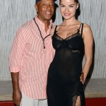 Sparkle screening afterparty - Russell Simmons and friend