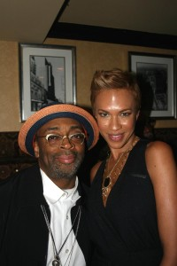 Spike Lee and Tonya Lewis Lee