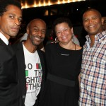 Toure, Stephen Hill,  Debra Lee, Reginald Hudlin