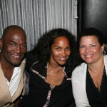 Carl M. Nelson, Being Mary Jane creator Mara Brock Akil, and BET's Debra Lee