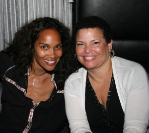 Mara Brock Akil and BET&#039;s Debra Lee